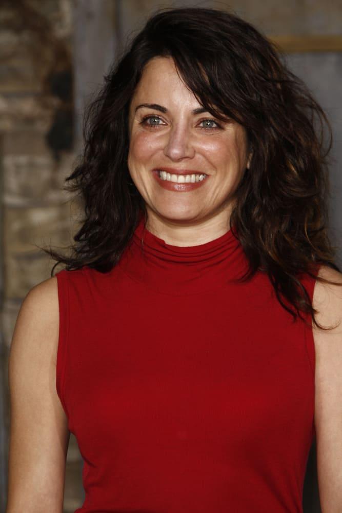 Alanna Ubach at the premiere of 'Rango'.