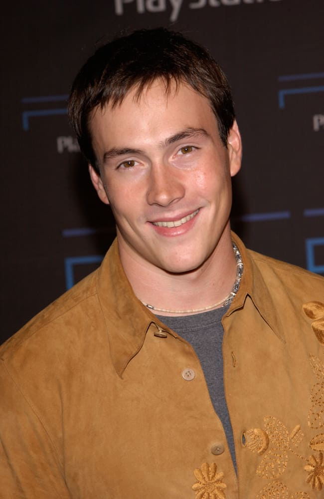 Chris Klein attended the one-year anniversary party, in Los Angeles, for the Sony Playstation 2.