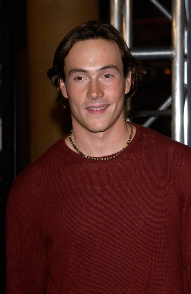 Chris Klein attended the special screening in Los Angeles of the new James Bond movie Die Another Day.
