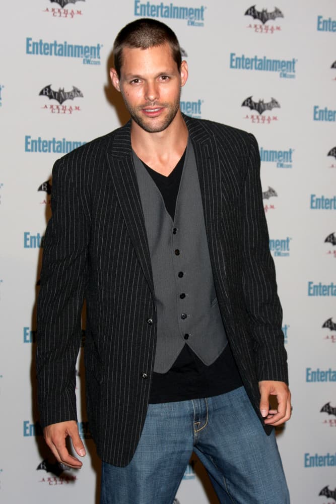 Justin Bruening attended the EW Comic-con Party 2011 at EW Comic-con Party 2011 on July 23, 2011 in Los Angeles, CA.