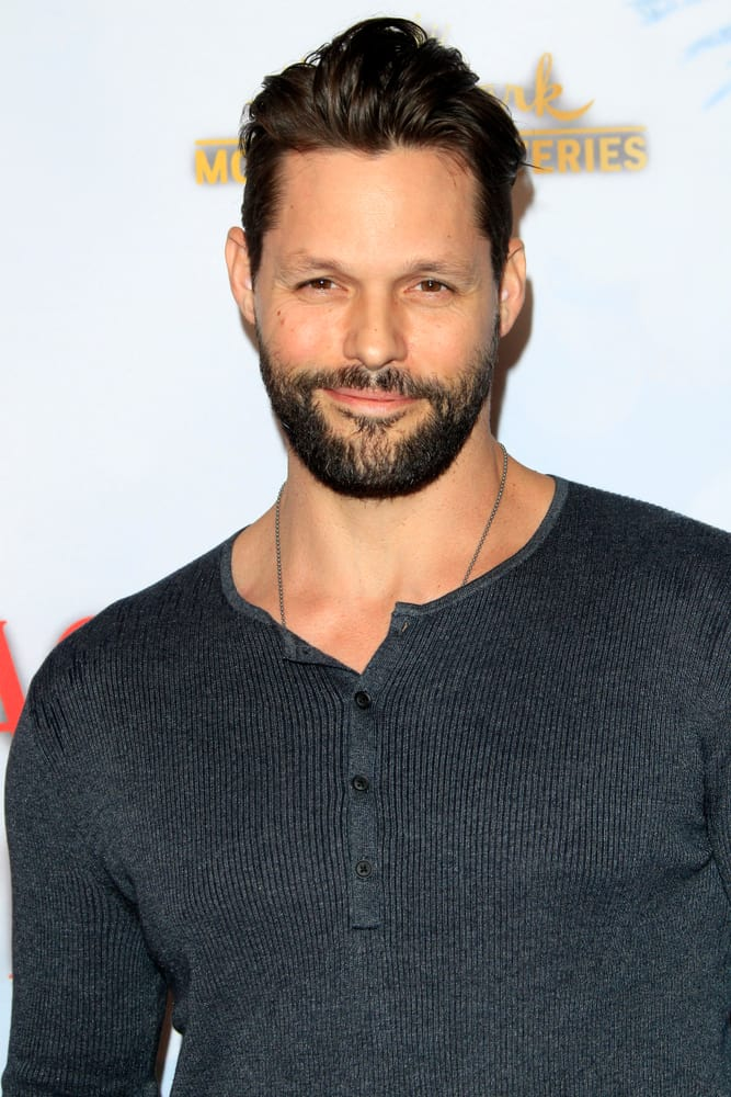 """Justin Bruening attended the """"Once Upon A Christmas Miracle"""" Screening and Holiday Party at the 189 by Dominique Ansel on December 4, 2018 in Los Angeles, CA."""