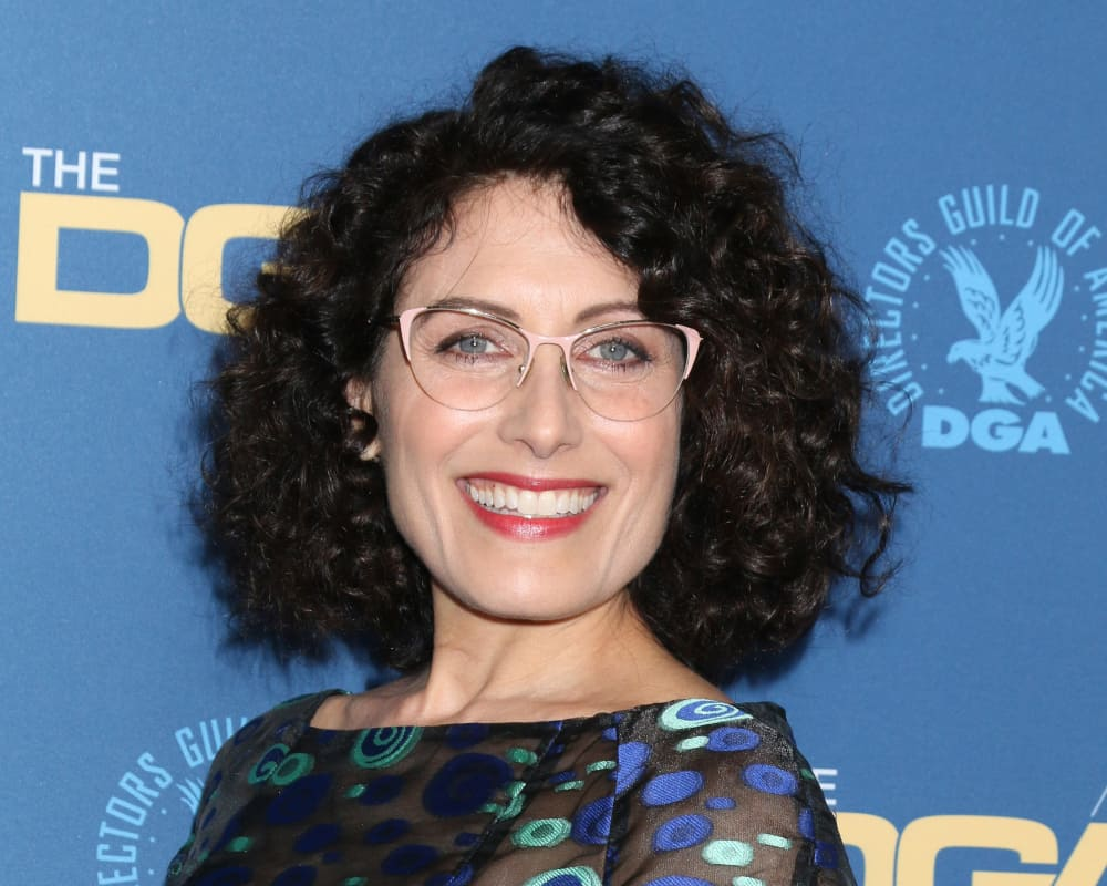 Lisa Edelstein at the 2019 Directors Guild of America Awards.