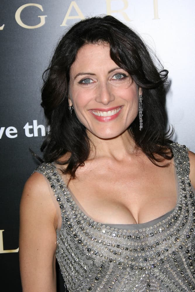 Lisa Edelstein at a Bvlgari Private Event Honoring Simon Fuller And Paul Haggis To Benefit Save The Children And Artists For Peace And Justice.