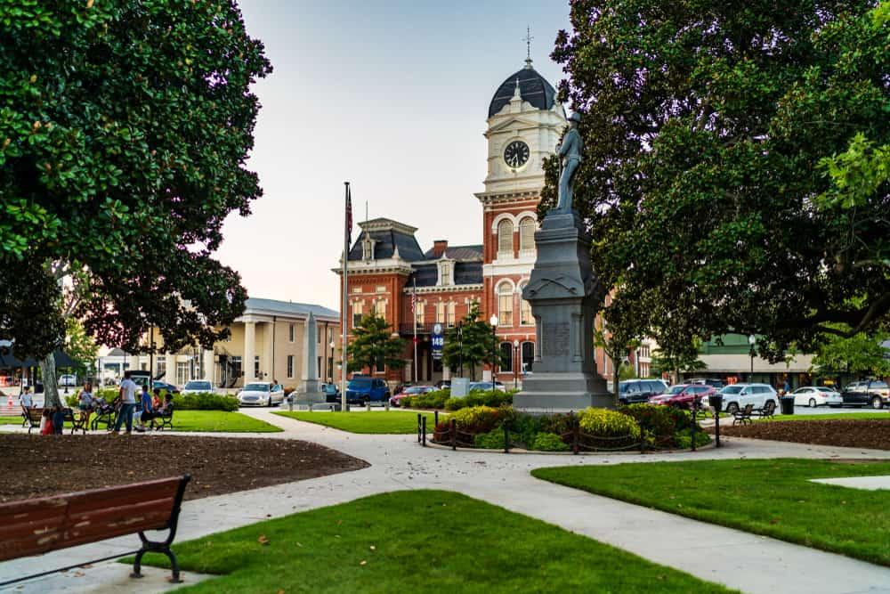 The courthouse in Covington Georgia