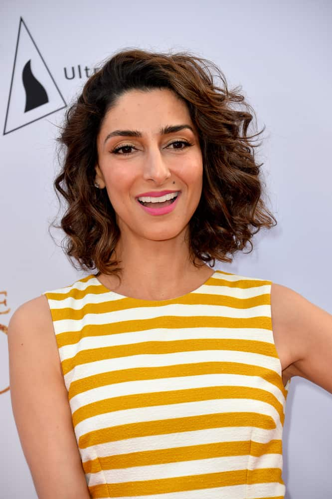 """Necar Zadegan at the premiere for """"The Promise""""."""