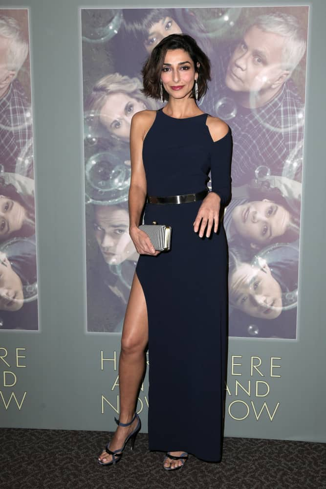 """Necar Zadegan at the """"Here And Now"""" premiere screening at the Directors Guild of America."""