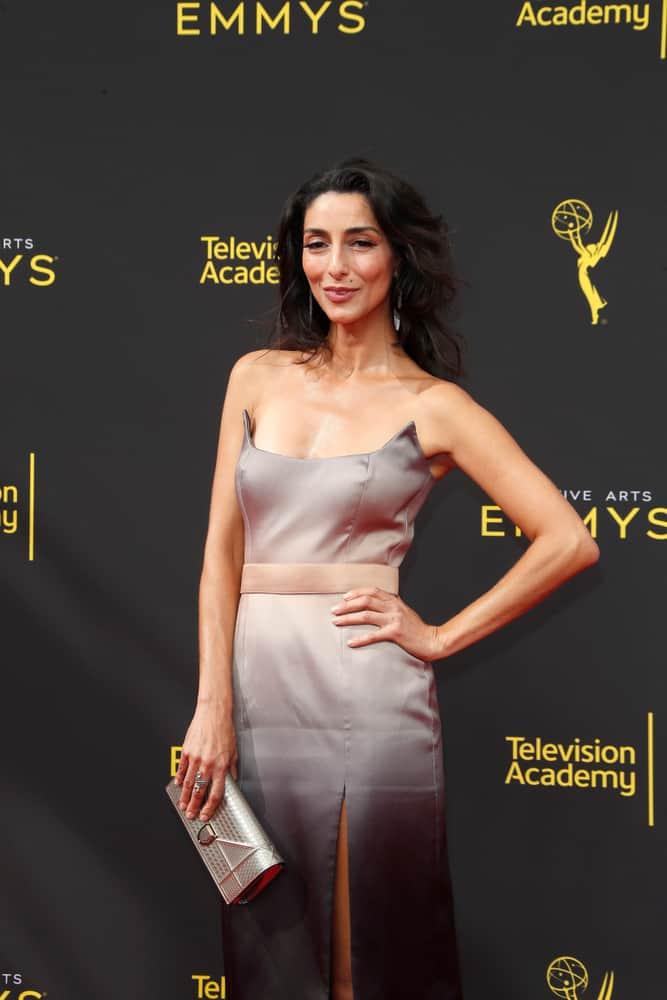 Necar Zadegan at the 2019 Primetime Emmy Creative Arts Awards.