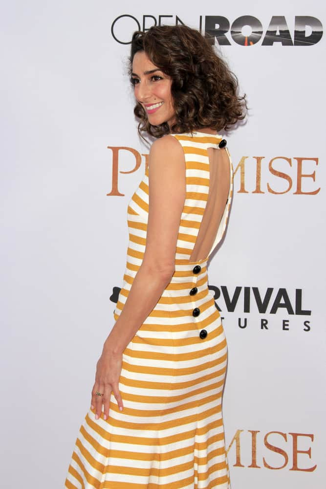 """Necar Zadegan at the """"The Promise"""" Premiere at the TCL Chinese Theater IMAX."""