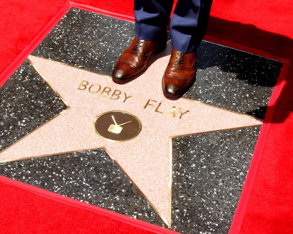 Bobby Flay Hollywood Walk of Fame star