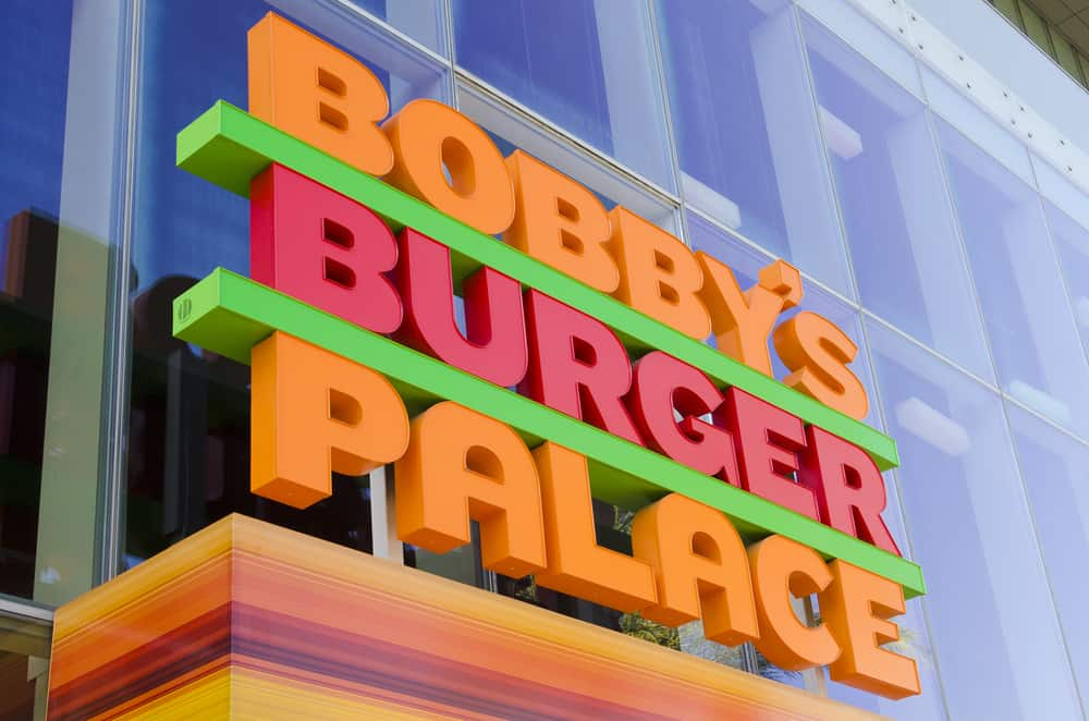 Bobby's Burger Palace in Las Vegas.