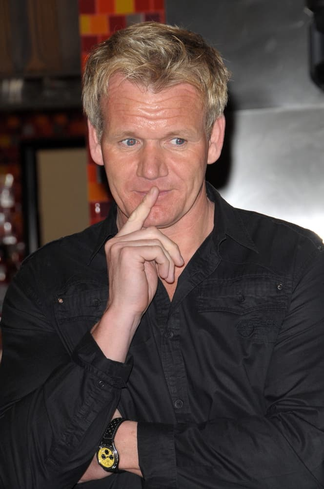 Gordon Ramsay at the 'Hell's Kitchen' 100th Episode Celebration