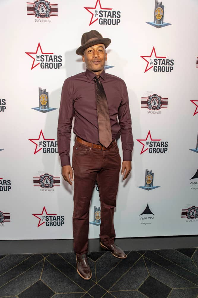 James Lesure at the 2018 LAPMF Heroes for Heroes Celebrity Poker Tournament & Casino Night Party.