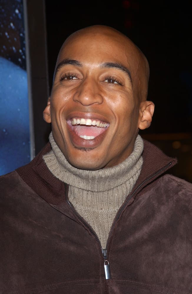 James Lesure at the world premiere of Gothika in Los Angeles.