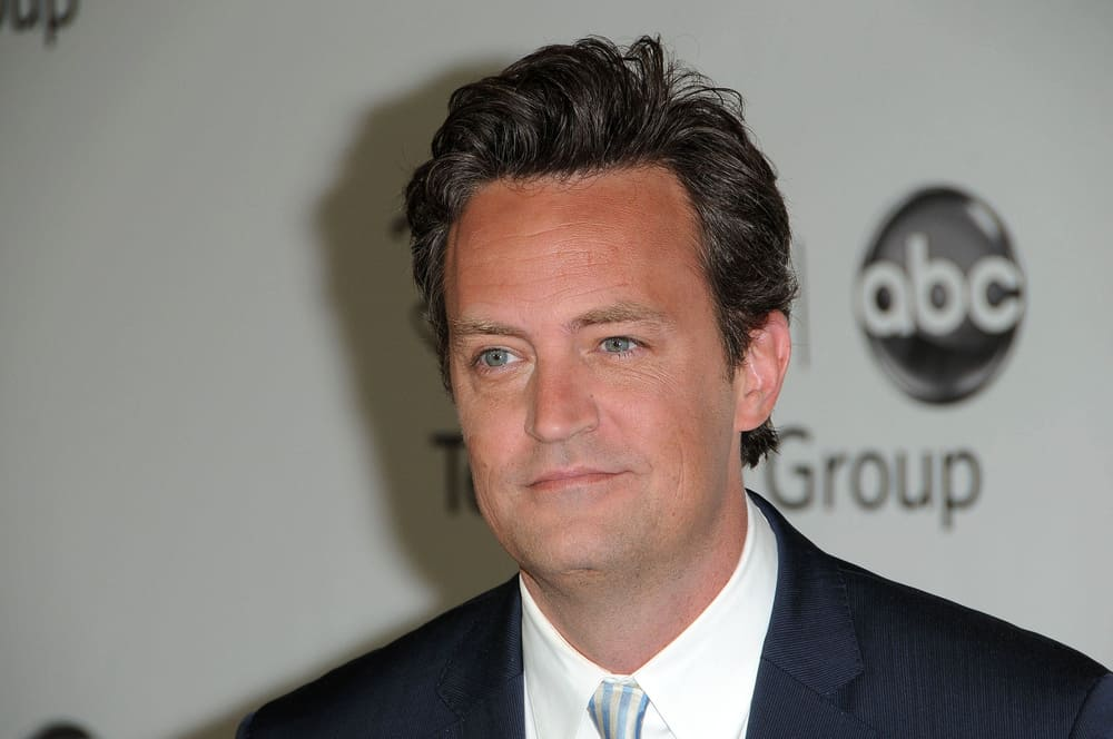 Matthew Perry at the Disney ABC Television Group Summer 2010 Press Tour.