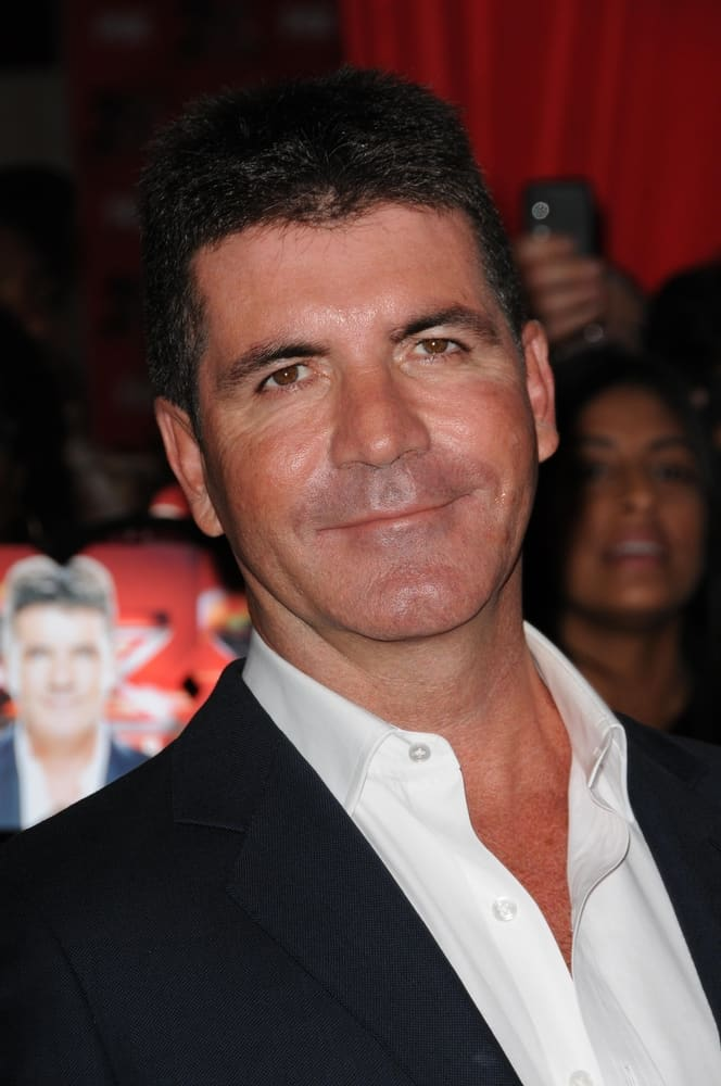 """Simon Cowell at FOX's """"The X Factor"""" World Premiere Screening Event."""