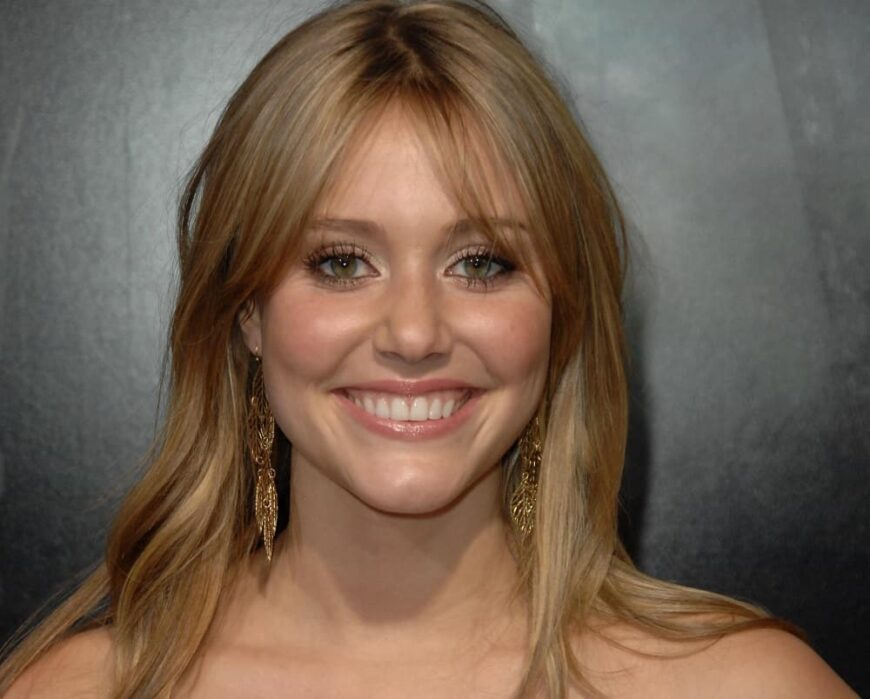 Julianna Guill attended the premier of the Friday the 13th movie.