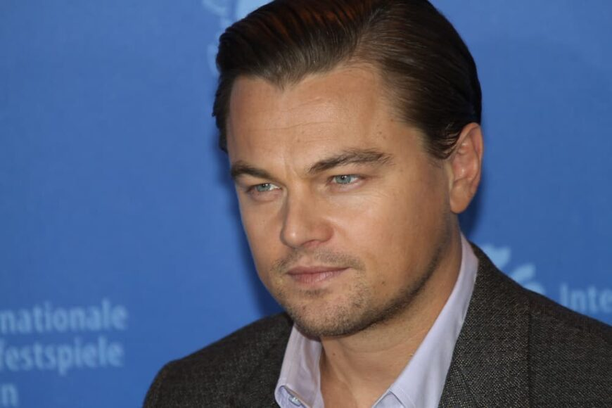 Leonardo DiCaprio attended the Berlin premiere of Shutter Island.