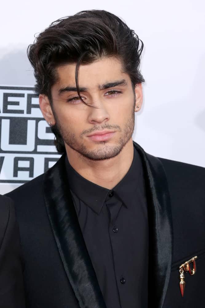 Zayn Malik attended the 2014 American Music Awards.