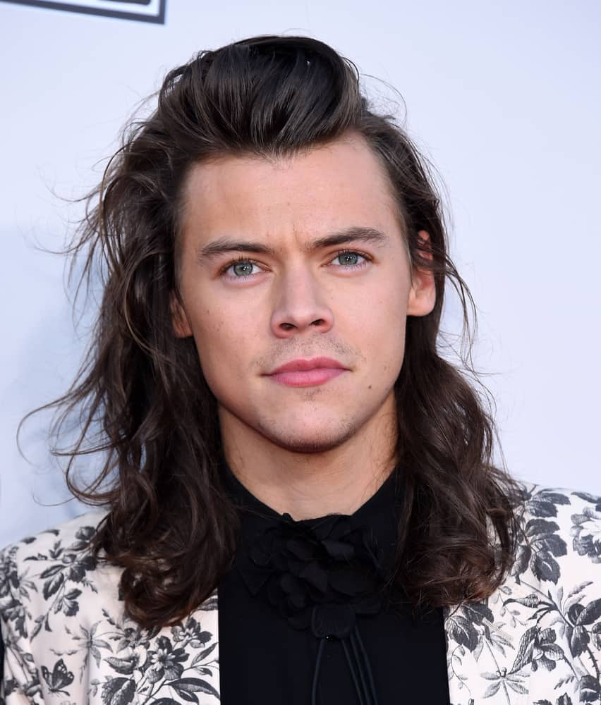 Harry Styles attended the 2015 American Music Awards.