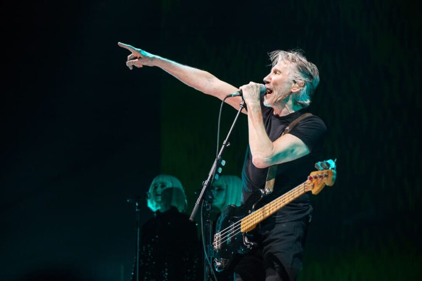 Pink Floyd performed on stage in their tour performance in Vancouver back in 2017.