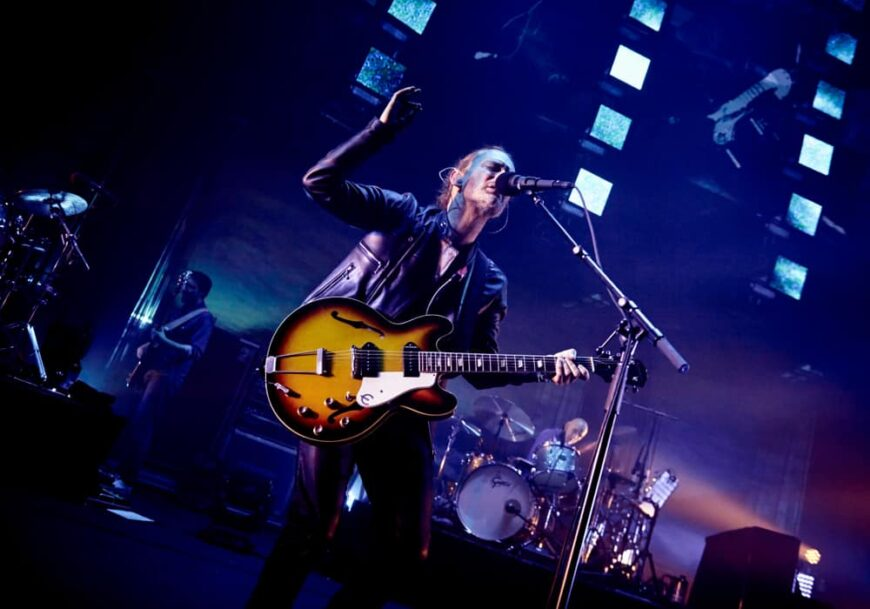 Radiohead performed on stage in the London Roundhouse back in 2016.
