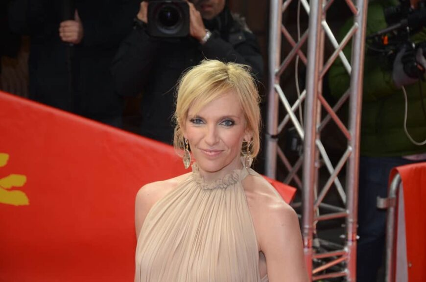 Toni Collete attended a movie premiere in Germany.