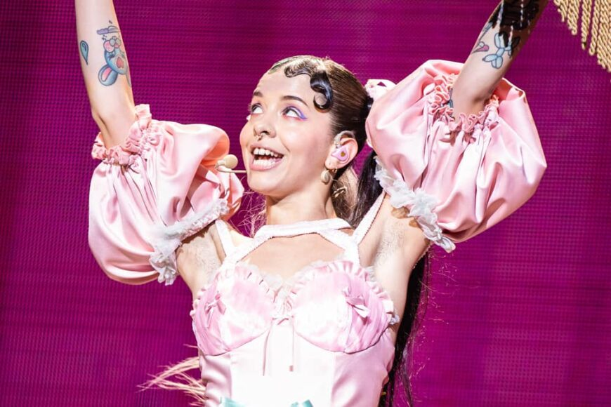 Melanie Martinez performed live on stage in London back in 2020.